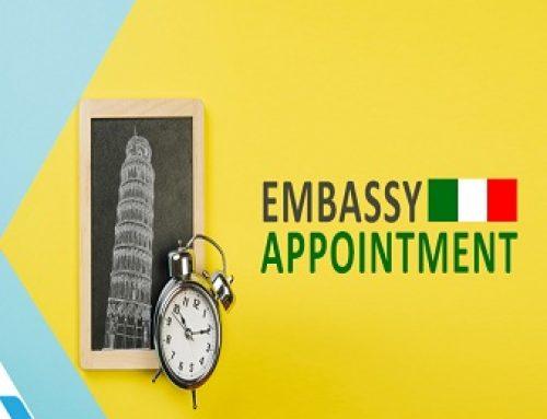 تعیین وقت سفارت ایتالیا